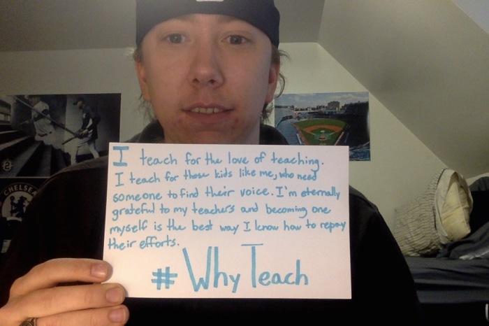 #WhyTeach - Conor Pierson