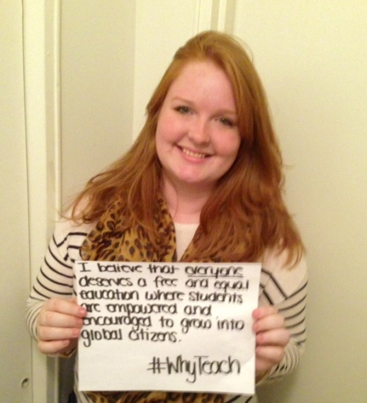 #WhyTeach - Meg King