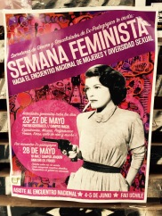 """""""Feminist week: Toward the national assembly of women and sexual diversity."""""""